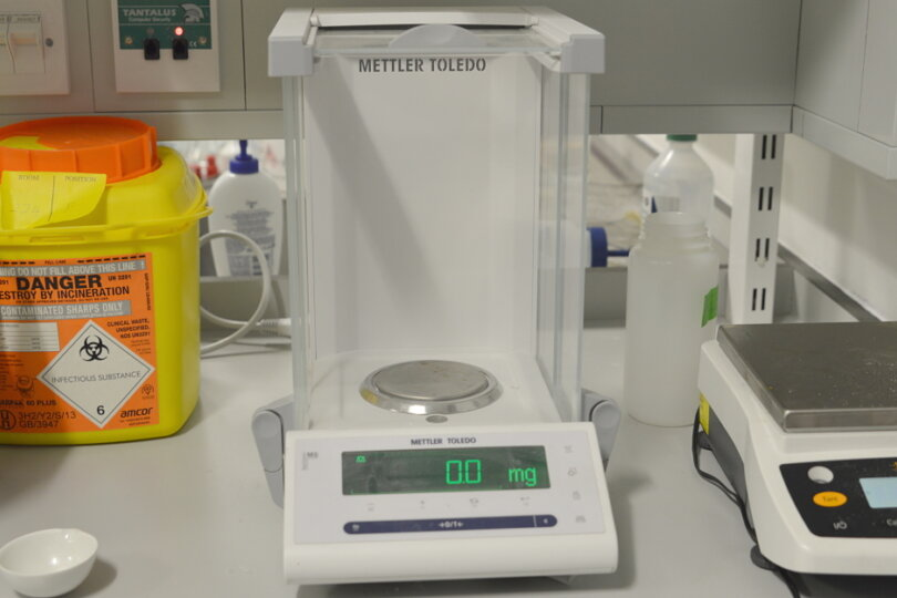 MS 105 Analytical Balance (Mettler Toledo)