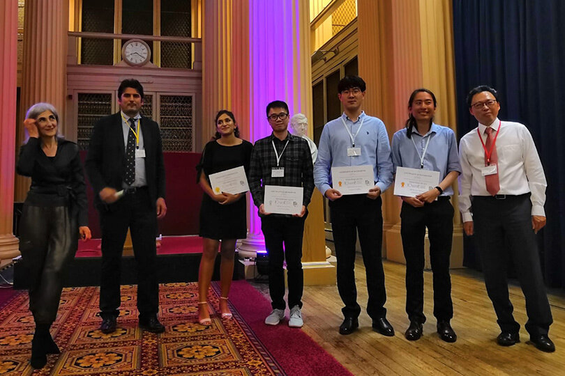 Kaiqiao Wu awarded IChemE young researcher second prize at PTF2019