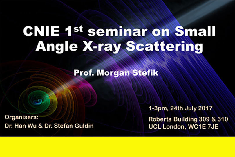 CNIE-SAXS Seminar and Networking Event: Adventures with Small-Angle X-Ray Scattering at USC