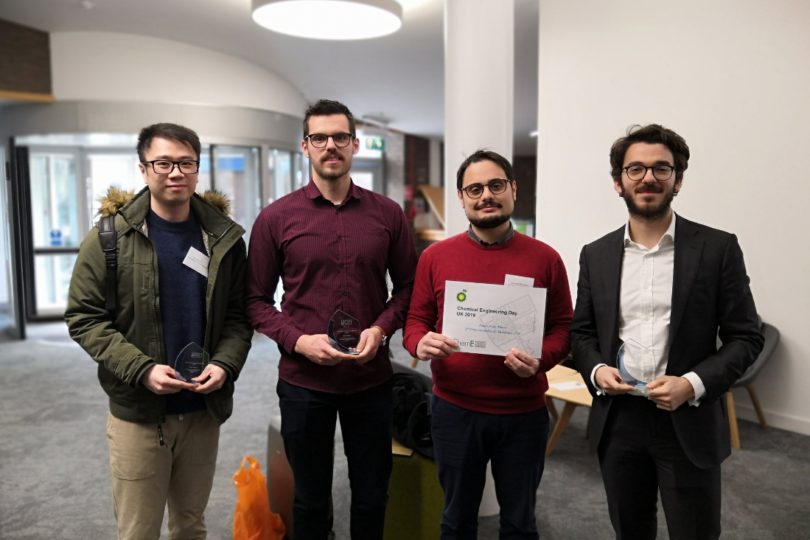 CNIE and UCL Chem Eng win four prizes at ChemEngDayUK 2019