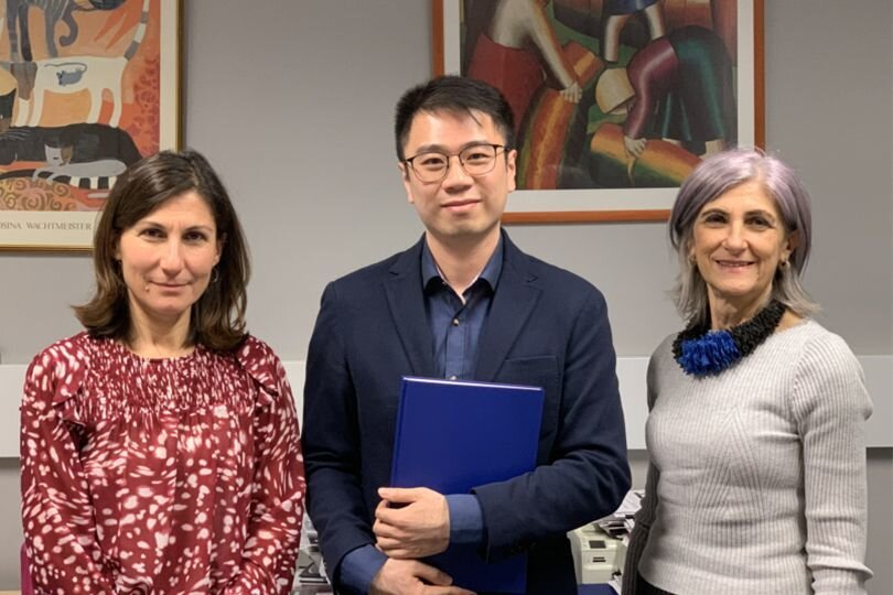 Congratulations to the newly titled Dr Kaiqiao Wu