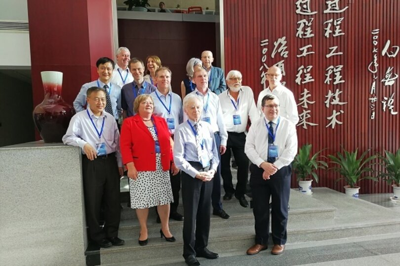 Marc-Olivier Coppens attends the International Panel for Mesoscience, at the Chinese Academy of Sciences