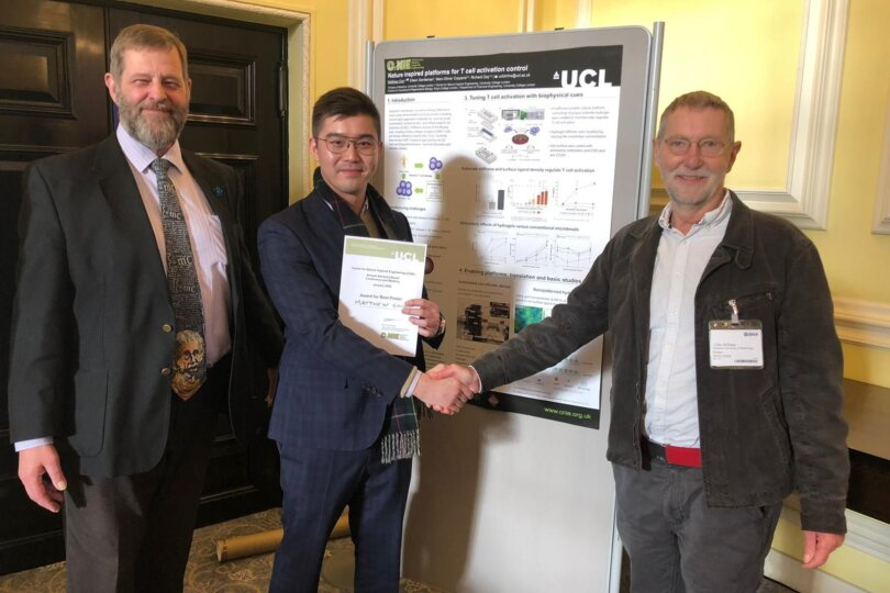Matthew Chin Wins Poster Presentation